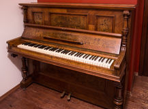 Beautiful old German piano Royalty Free Stock Images