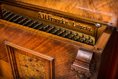 Beautiful old German piano Royalty Free Stock Photos