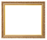 Beautiful old golden frame Royalty Free Stock Images