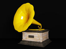 Beautiful old gramophone Stock Photos