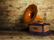 Beautiful old gramophone Stock Image