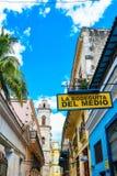 Beautiful Old havana. Mythical Old Havana in Cuba, la bodeguita del medio Stock Image