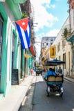 Beautiful Old havana. Mythical Old Havana in Cuba, calm street Royalty Free Stock Image