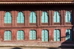Beautiful old haveli in Bikaner. Rajasthan, India Stock Image