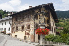 Beautiful Old House, Austria Royalty Free Stock Images