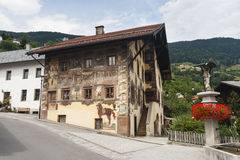 Beautiful Old House, Austria Royalty Free Stock Photos