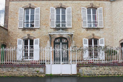 Beautiful old house in Bayeux. Royalty Free Stock Photos