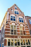 Beautiful old house in the Dutch town of Gorinchem Stock Photo