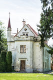 Beautiful old house in Lednice, southern Moravia, Czech republic. Architectural scene Stock Photography