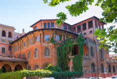 Beautiful old house in Rome Royalty Free Stock Image