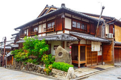 Beautiful old house in Sannen-zaka street, Kyoto, Japan Stock Photography
