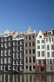 Beautiful old houses in Amsterdam Royalty Free Stock Photo