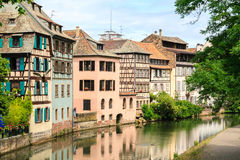Beautiful old houses in  Strasbourg, France Stock Image