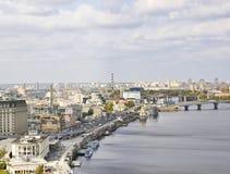 The beautiful old Kiev city Royalty Free Stock Photos