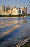 The beautiful old Kiev city - the capital of Ukraine ,Kiev in the spring,Kiev beautiful city,Kiev blooming,Ukraine, Dnieper River, Stock Photos