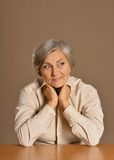 Beautiful old lady Royalty Free Stock Images