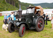 Beautiful old Lanz Bulldog on the exhibition Stock Images
