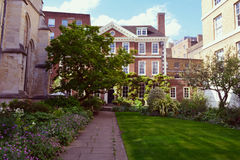 Beautiful old Master House, Temple Church, London Royalty Free Stock Photo