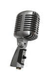 Beautiful old microphone Stock Images