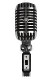 Beautiful old microphone Royalty Free Stock Photography