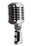 Beautiful old microphone Royalty Free Stock Photo