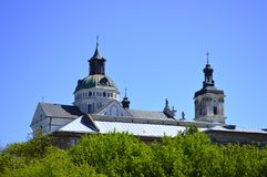 Beautiful Old Monastery of the Carmelites of Barefoot. Close up royalty free stock images