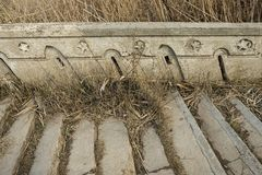 Beautiful old natural stone stairs. Stock image Stock Image