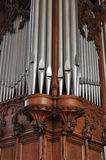 Pipe Organ Pipes Stock Images