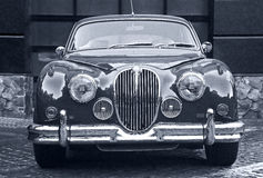 Beautiful old prestigious car Royalty Free Stock Photo