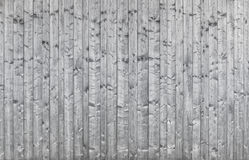 Beautiful old silvery wooden wall - background texture Royalty Free Stock Images