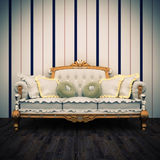 Beautiful old sofa interior Stock Images