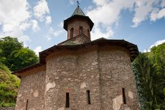 Beautiful old stone church in Romania Royalty Free Stock Image
