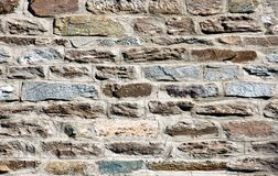 Beautiful old stone wall Royalty Free Stock Image
