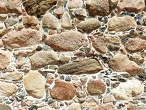 Old stones wall texture Royalty Free Stock Photo