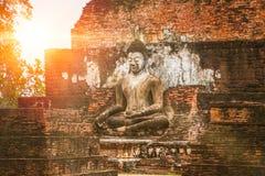 Beautiful old temple at Sukhothai Historical Park. Stock Photos