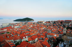 Beautiful old town of Dubrovnik Royalty Free Stock Photo