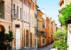 Beautiful old town of Provence Royalty Free Stock Image