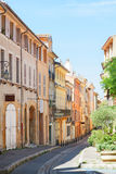 Beautiful old town of Provence Stock Photos