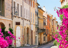 Beautiful old town of Provence Royalty Free Stock Images