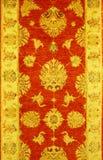 Beautiful old turkish carpet, vertical Stock Photos