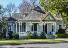 Beautiful old Victorian Home. Grand old Victorian home, Colusa, California Royalty Free Stock Images