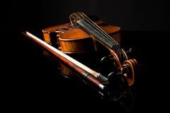 Beautiful old violin Royalty Free Stock Image