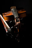 Beautiful old violin Royalty Free Stock Images