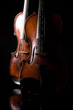 Beautiful old violin Stock Photos
