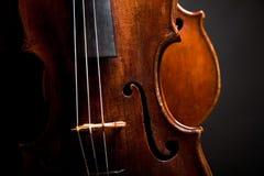 Beautiful old violin royalty free stock photo