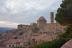 Beautiful old Volterra Stock Photo