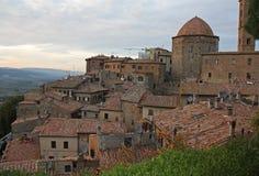 Beautiful old Volterra Stock Image