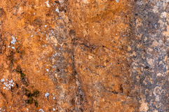 Beautiful old wall with cracks and aged texture. Stock Images