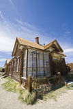 Beautiful old Western style house. Western style abandoned house in Bodie National State park Stock Image