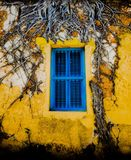 Beautiful old old window royalty free stock images